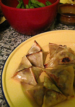 Gilded Sweet Corn Dumplings